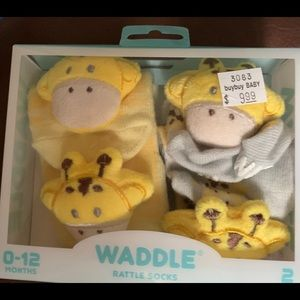 Waddle and Friend